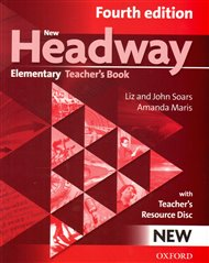 New Headway Fourth Edition Elementary Teacher´s Book with Teacher´s Resource Disc