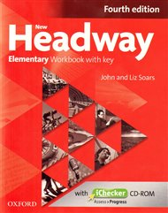 New Headway Fourth Edition Elementary Workbook with Key and iChecker CD-ROM