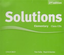 Obálka titulu Maturita Solutions 2nd Edition Elementary Class Audio CDs /3/