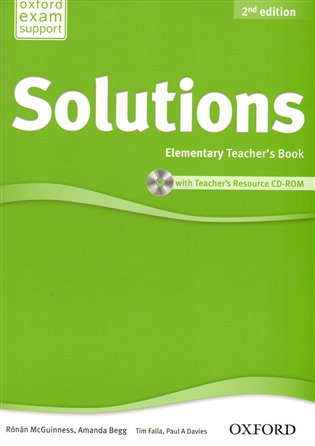 Maturita Solutions 2nd Edition Elementary Teacher´s Book with Teacher´s Resource CD-ROM