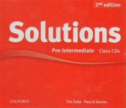 Obálka titulu Maturita Solutions 2nd Edition Pre-intermediate Class Audio CDs /3/