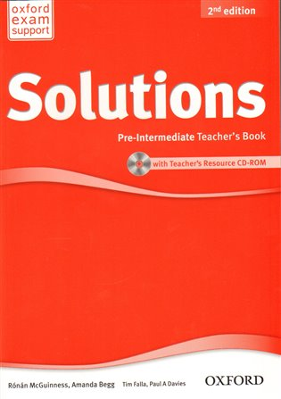 Maturita Solutions 2nd Edition Pre-intermediate Teacher´s Book with Teacher´s Resource CD-ROM