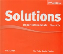 Obálka titulu Maturita Solutions 2nd Edition Upper Intermediate Class Audio CDs /4/