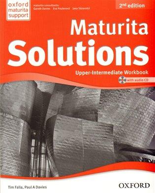 Maturita Solutions 2nd Edition Upper Intermediate Workbook with Audio CD CZEch Edition