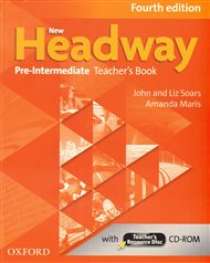 New Headway Fourth Edition Pre-intermediate Teacher´s Book with Teacher´s Resource Disc