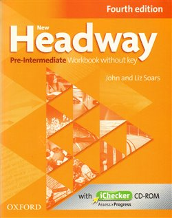 Obálka titulu New Headway Fourth Edition Pre-intermediate Workbook Without Key with iChecker CD-ROM