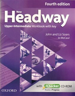 Obálka titulu New Headway Fourth Edition Upper Intermediate Workbook with Key and iChecker CD-ROM