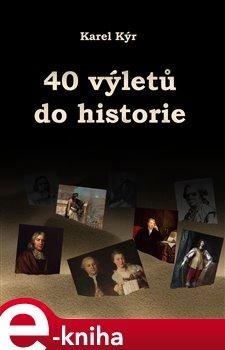 Obálka titulu 40 výletů do historie