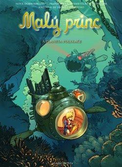 Obálka titulu Malý princ a Planeta polykače