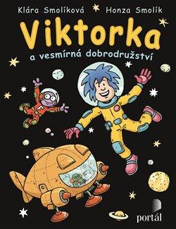 Obálka titulu Viktorka a vesmírná dobrodružství