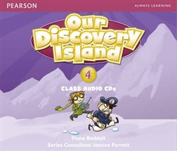 Our Discovery Island 4 Audio CD - Fiona Beddall