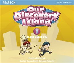 Our Discovery Island 5 Audio CD - Megan Roderick
