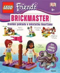 Lego Friends Brickmaster. Hledání pokladu v městečku