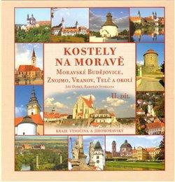 Obálka titulu Kostely na Moravě