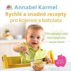 Obálka titulu Rychlé a snadné recepty pro kojence a batolata