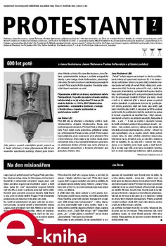 Obálka titulu Protestant 2014/7