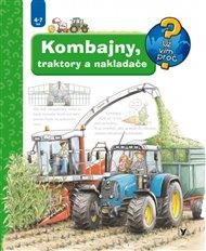 Kombajny, traktory a nakladače