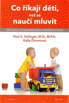Obálka titulu Co říkají děti, než se naučí mluvit