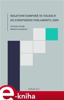 Obálka titulu Negativní kampaně ve volbách do Evropského parlamentu 2009