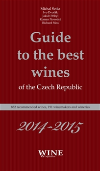 Obálka titulu Guide to the best wines of the Czech Republic 2014-2015