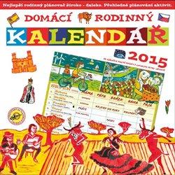 Obálka titulu Domácí rodinný kalendář 2015