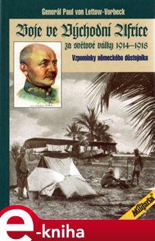 Obálka titulu Boje ve východní Africe za světové války 1914-1918
