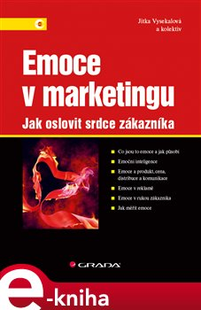 Obálka titulu Emoce v marketingu