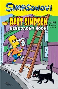 Obálka titulu Bart Simpson 13 (9/2014): Nebojácný hoch