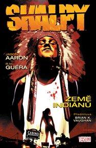 Novinka o apačském náčelníkovi Geronimovi, znovuvydání knihy Mluví Černý jelen a komiks Skalpy. Bledé tváře se můžou v teple svých teepee začíst do knih, kde mohou najít dobrodružství, moudrost i noir rezervační atmosféru.