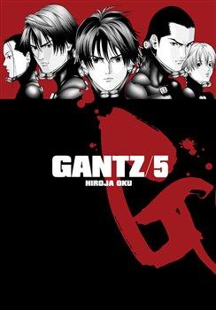 Obálka titulu Gantz 5