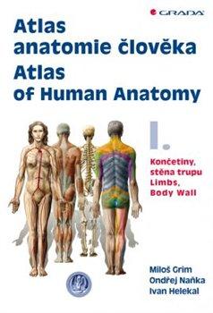 Obálka titulu Atlas anatomie člověka I.
