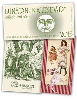 Obálka titulu Lunární kalendář 2015 + Hubneme s Měsícem + Osmý rok s Měsícem