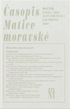 Obálka titulu Časopis Matice moravské supplementum 3/2012