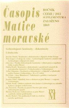 Obálka titulu Časopis Matice moravské supplementum 4/2013