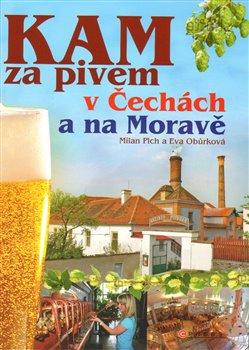 Obálka titulu KAM za pivem v Čechách a na Moravě
