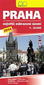 Praha 2014. Největší zobrazené území