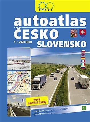 Autoatlas Česko Slovensko /1:240 000/ - - | Booksquad.ink