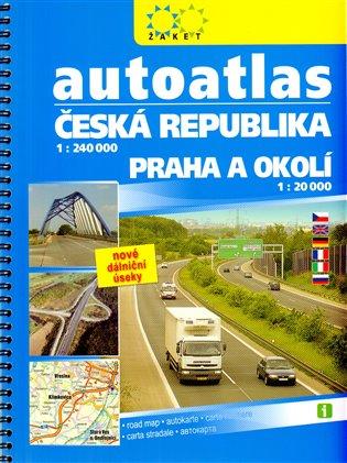 Autoatlas Česká republika + Praha a okolí /2015/
