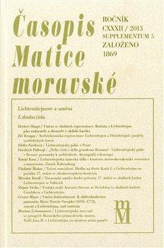 Obálka titulu Časopis Matice moravské supplementum 5/2013