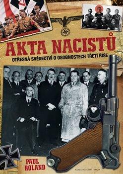 Obálka titulu Akta nacistů
