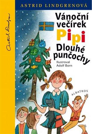 Vánoční večírek Pipi Dlouhé punčochy - Astrid Lindgrenová   Booksquad.ink