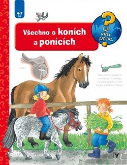 Obálka titulu Všechno o koních a ponících