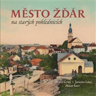 Město Žďár na starých pohlednicích