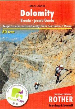 Obálka titulu Dolomity - Brenta - Jezero Garda