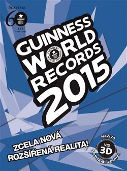 Obálka titulu Guinness World Records 2015 - nové rekordy