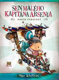 Obálka titulu Sen malého kapitána Arsenia