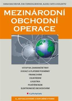 Obálka titulu Mezinárodní obchodní operace
