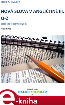 Obálka titulu Nová slova v angličtině III.