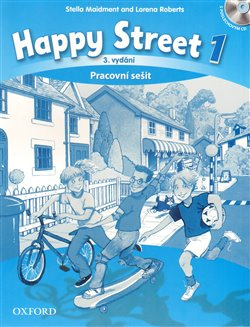 Obálka titulu Happy Street 3rd Edition 1 Activity Book CZE