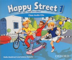 Obálka titulu Happy Street 3rd Edition 1 Class Audio CDs (3)